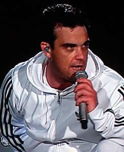robbie williams underwater aliens